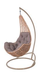 Элегантное подвесное кресло «Леди»,  бесплатная доставка к дому.