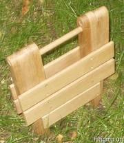 Табурет складной деревянный